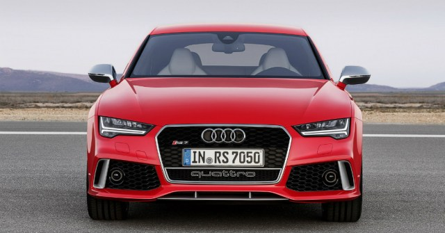 2016 REd Audi RS 7