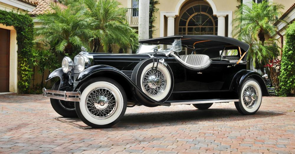 12.30.15 - 1929 Stutz Model M Four-Passenger Speedster