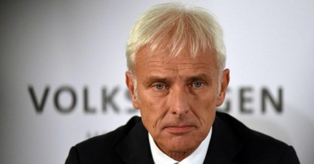 01.23.17 - Volkswagen CEO Matthias Müller