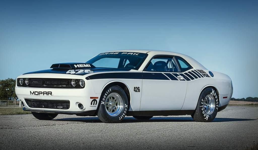 The Mopar Dodge Challenger Drag Pak Is A Factory Beast