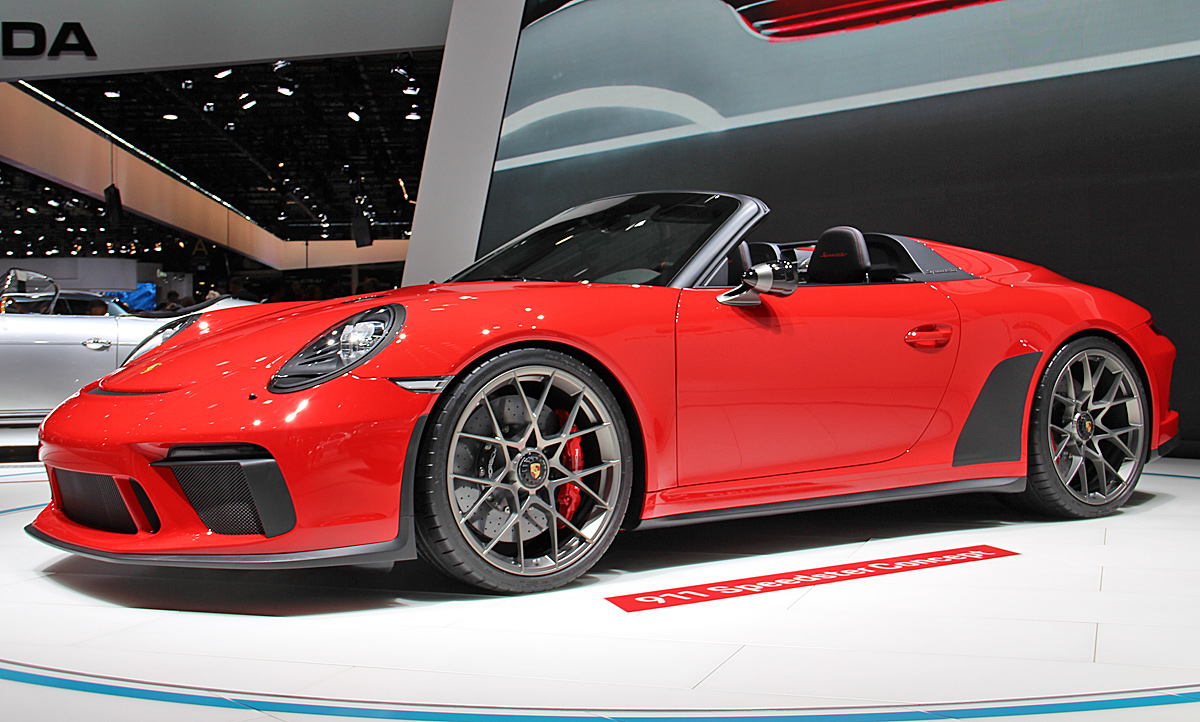 Auto Kindersitz Test 2019 Porsche 911 Speedster New York Auto Show 2019