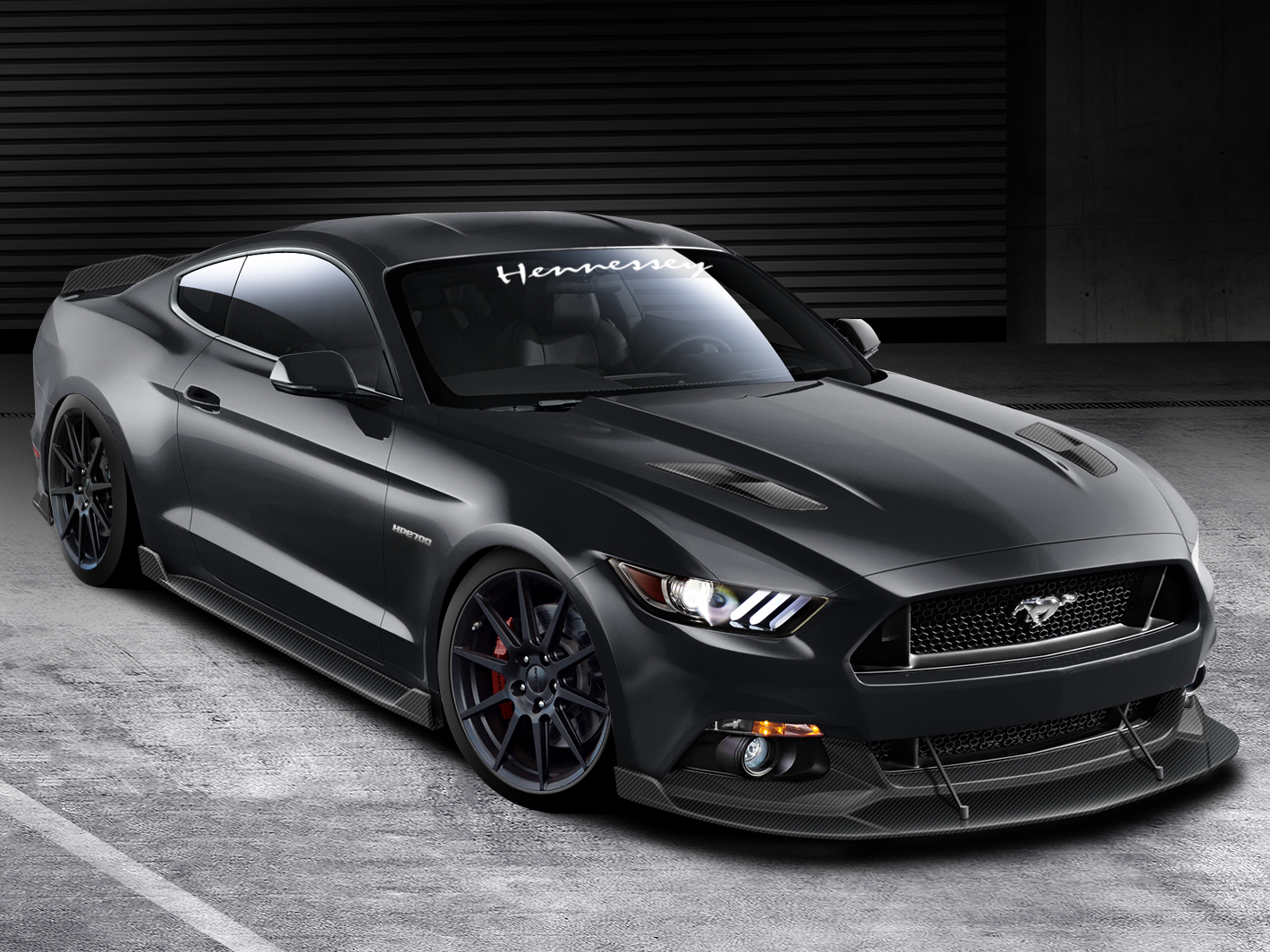 Neuer Ford Mustang 2015 Ford Mustang 2015 Tuning Von Hennessey Performance
