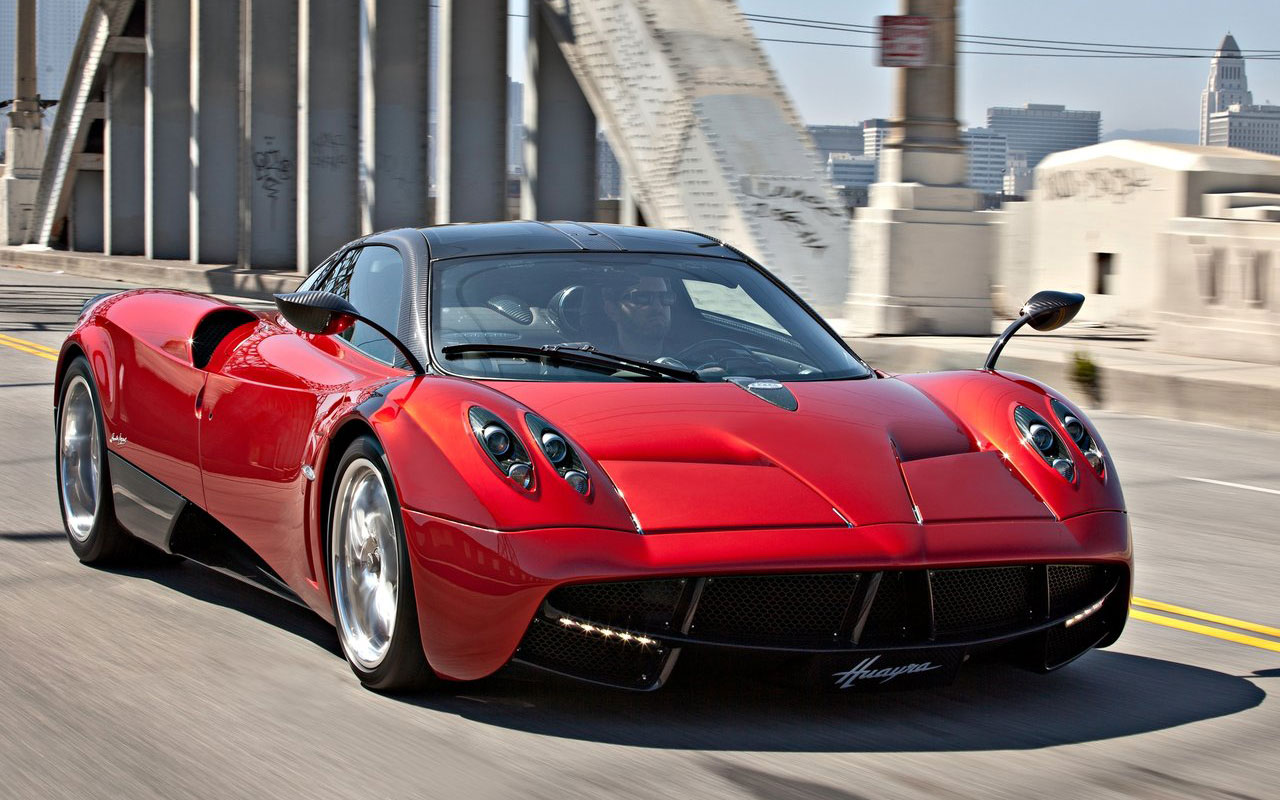 Top 7 Fastest Cars In The World - Pagani Huayra
