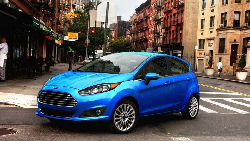 Best Economic Hatchback Cars For 2016 - Ford Fiesta