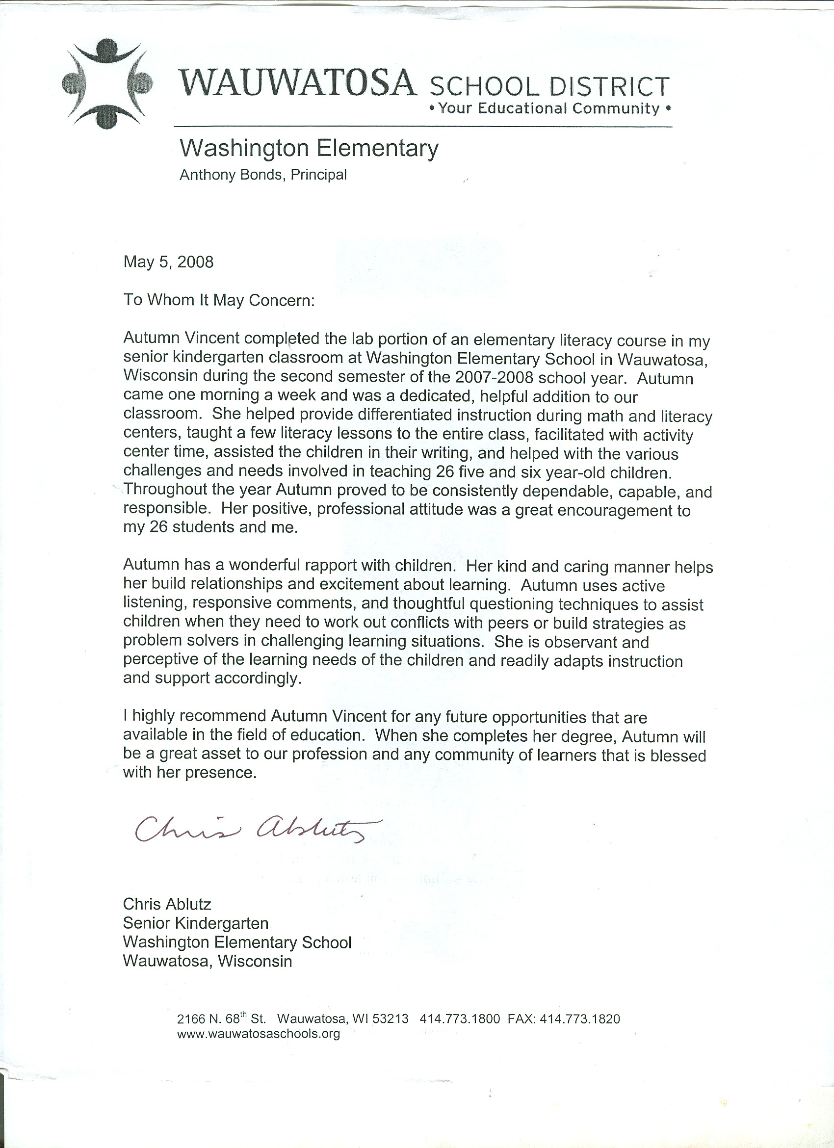 Letter Of Recommendation For Faculty Position Reference Letter