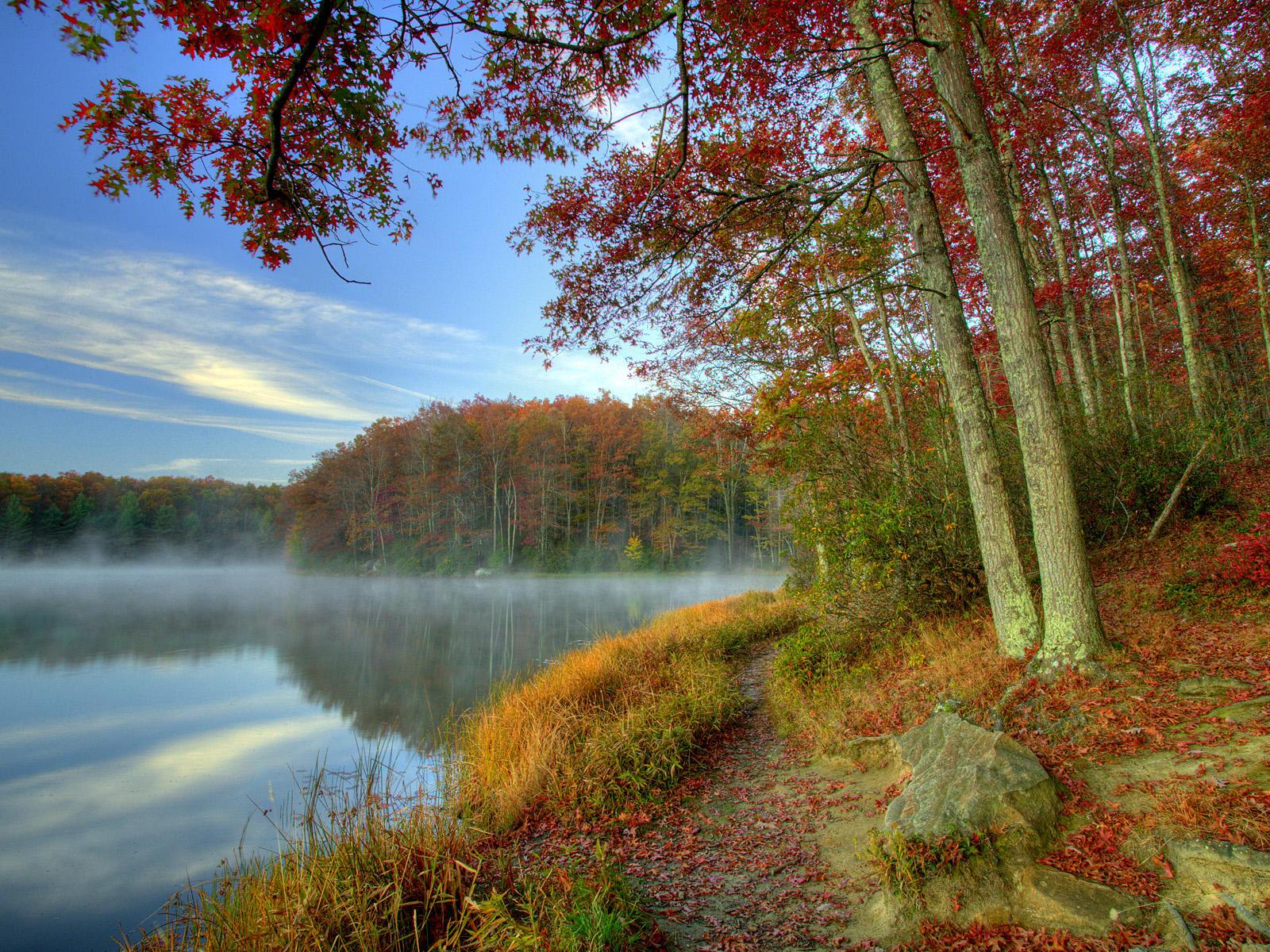 Desktop Wallpaper Fall Scenes Seasons Change