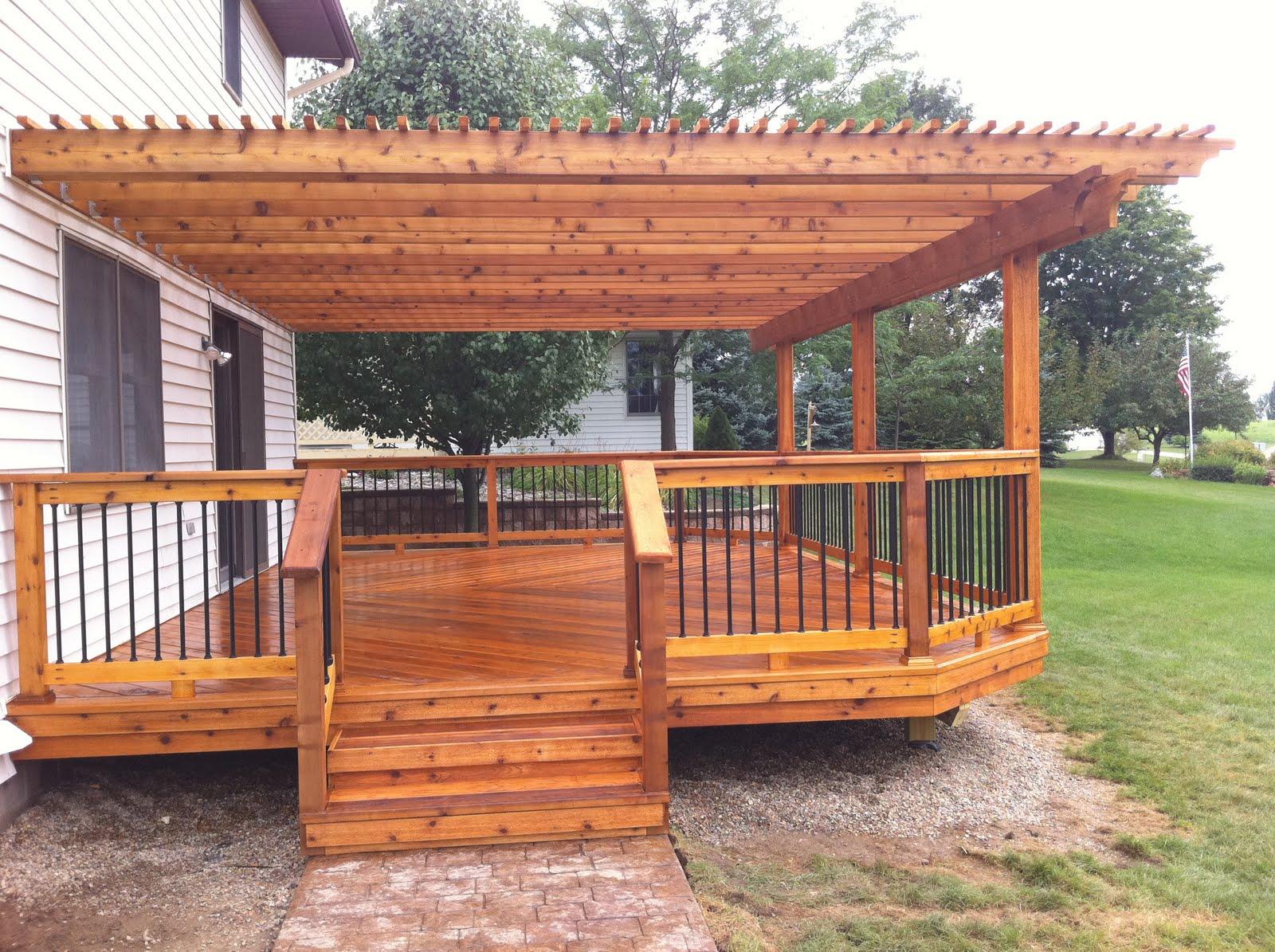Cedar Wood Decks In Michigan Autumnwoodconstruction39s Blog