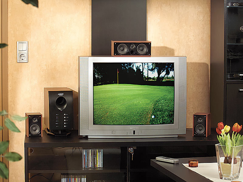 Heimkino Lautsprecher System 5.1 Test Auvisio Home-theater Surround-sound-system 5.1 Mit