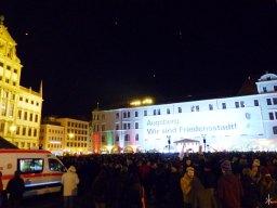 Rumsvoller Rathausplatz