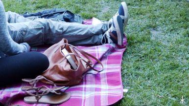 Immer gut: Ne Picknickdecke