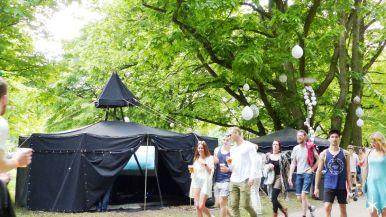 Was sich in diesem magischen Zelt wohl verbirgt?