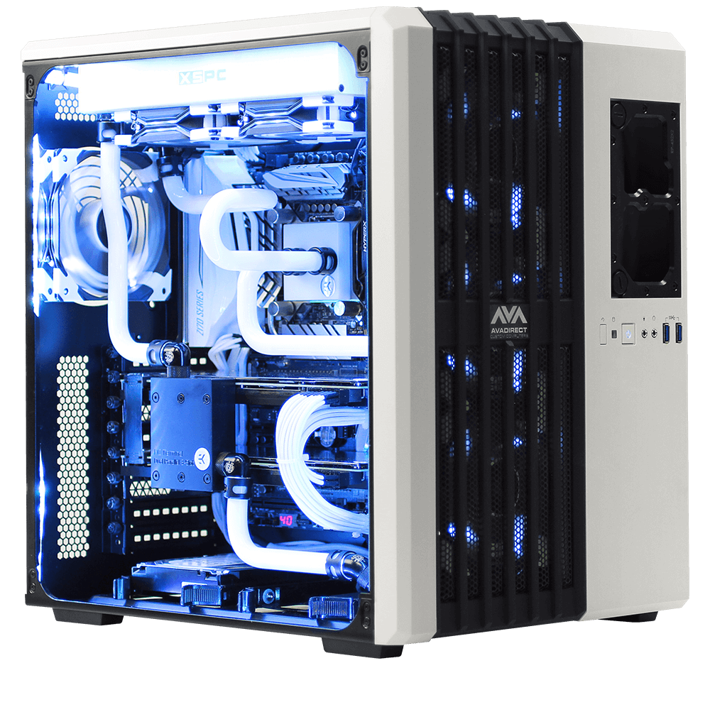 Computer Sales Melbourne Avalanche Ii Hardline Liquid Cooled Gaming Computer Avadirect