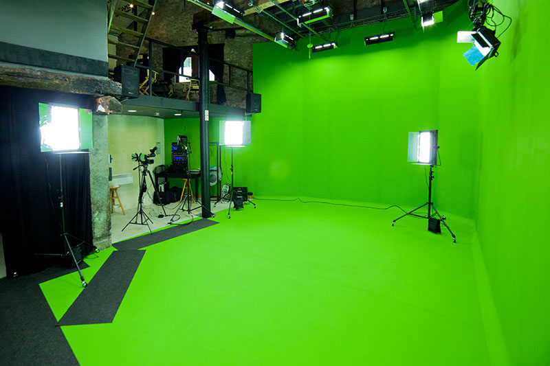 Eclairage Led Photographie Studio Studio D'enregistrement Vidéo Greenkey Chroma Key | Avadis Tv