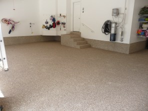 Garage floor systems