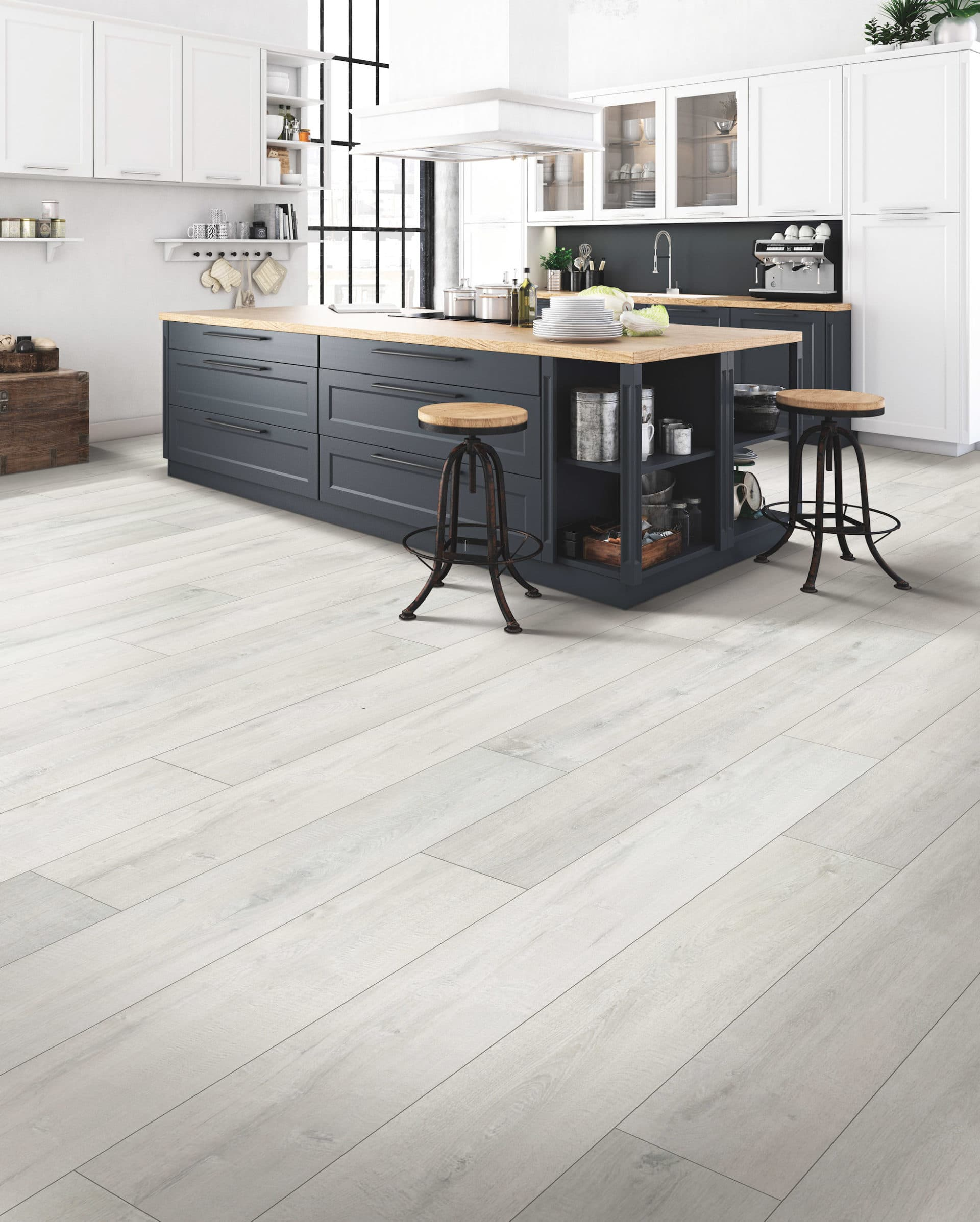 Laminate Flooring In Kitchen Pros Cons Kitchen Laminate
