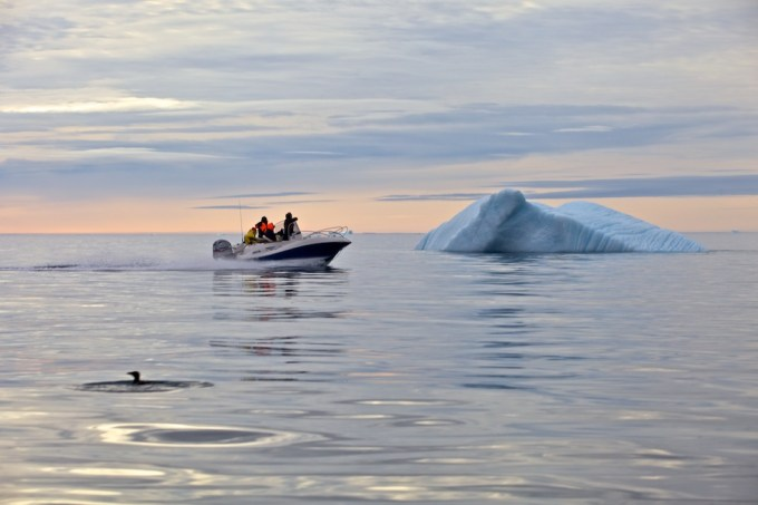 The Nearest Things.  Near Savissivik. Northern Greenland.  Photo © Galya Morrell