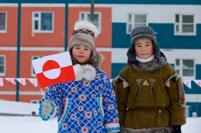Greenland Week in Chukotka. 2013. Photo © Galya Morrell
