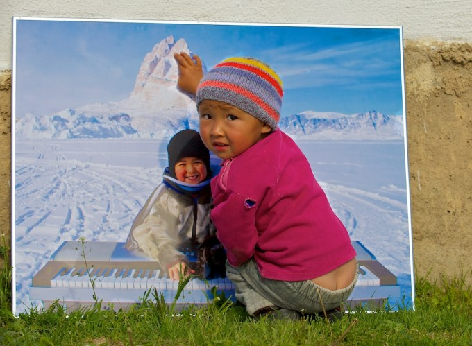Central Asia meets Greenland. Kyrgyzstan. Photo © 2012 Galya Morrell
