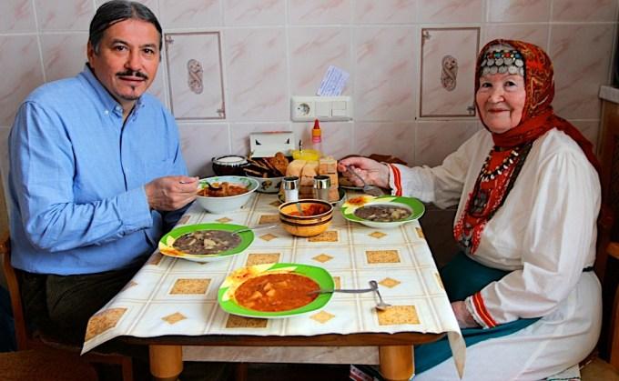 Anfisa Sharipova, a Mari artist living in Chukotka. Photo © 2013 Galya Morrell