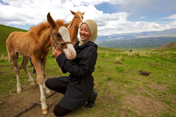 Horse herders in Central Asia. Photo © Galya Morrell