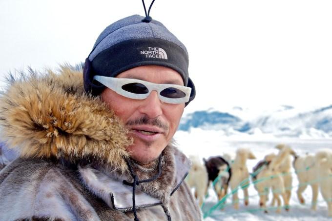 Ole Jorgen Hammeken. Greenlandic polar explorer and actor. Photo © 2012 Galya Morrell