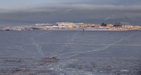 Anadyr in the Winter. Photo © 2013 Galya Morrell