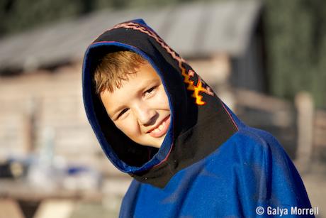 Khanti Boy. Photo © 2014 Galya Morrell