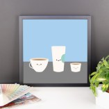 Coffee! Framed poster