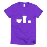 Coffee! Short sleeve women's t-shirt