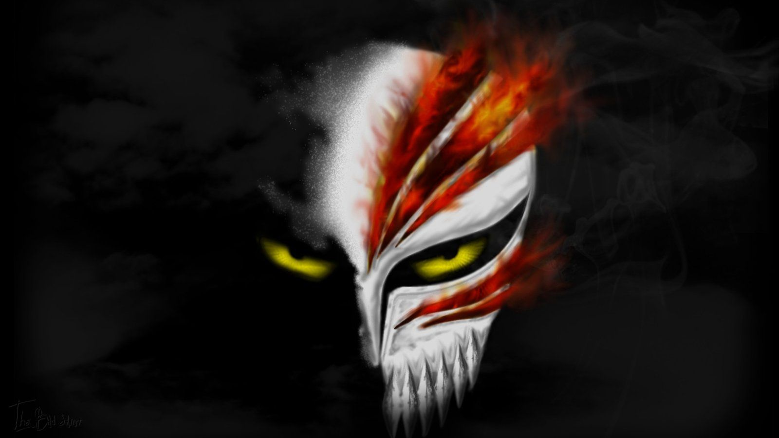 Black Ops Wallpaper Hd Bleach Hollow Mask Wallpapers 47 Wallpapers Adorable