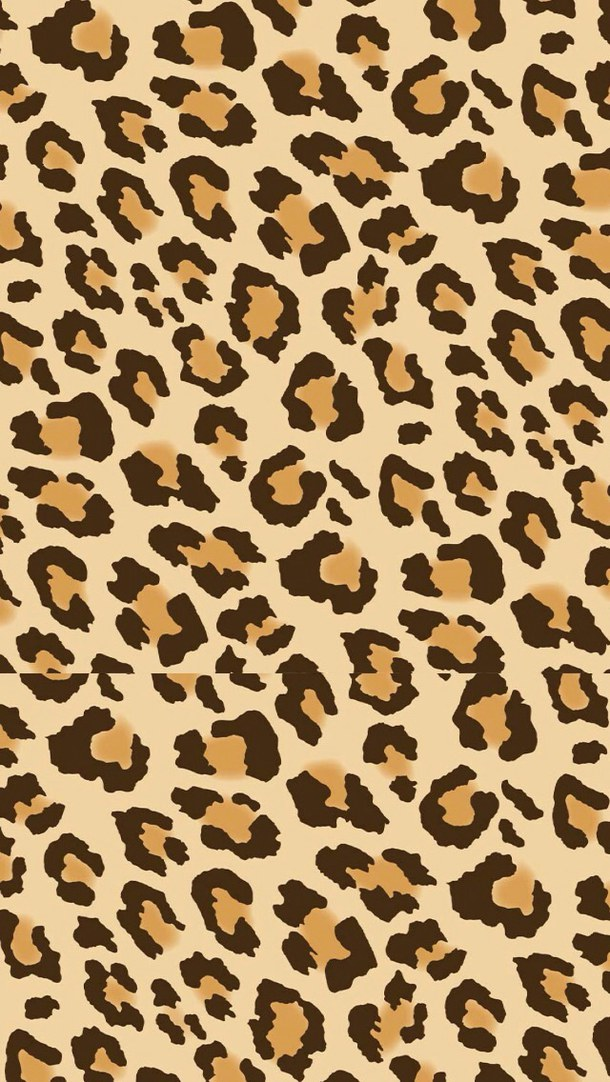 Leopard Animal Print Wallpaper Cheetah Backgrounds For Iphone 13 Wallpapers Adorable