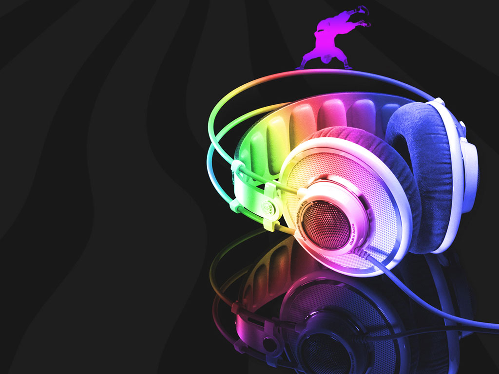 Hd 3d Neon Wallpapers Colorful Music Wallpapers 46 Wallpapers Adorable