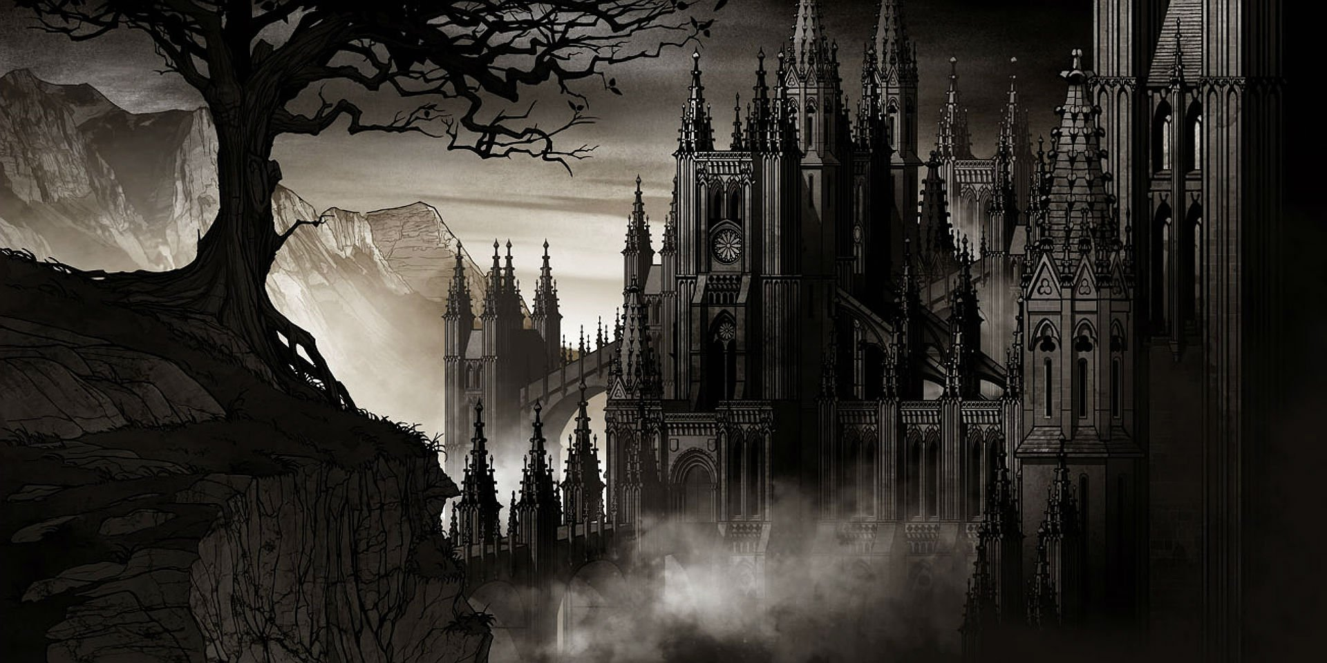 Hd Puzzle Wallpaper Dark Castle Backgrounds 35 Wallpapers Adorable Wallpapers