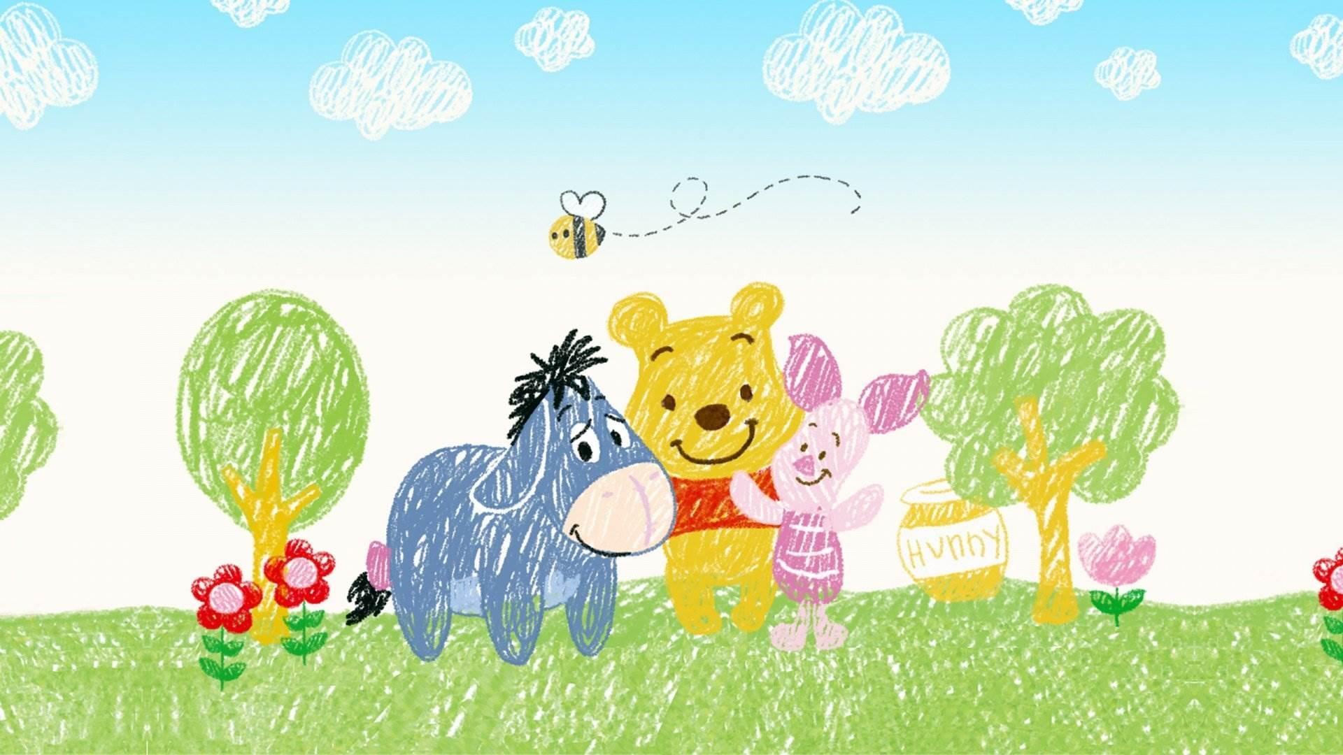 Pooh Bear Iphone Wallpaper Disney Winnie The Pooh Wallpapers 46 Wallpapers