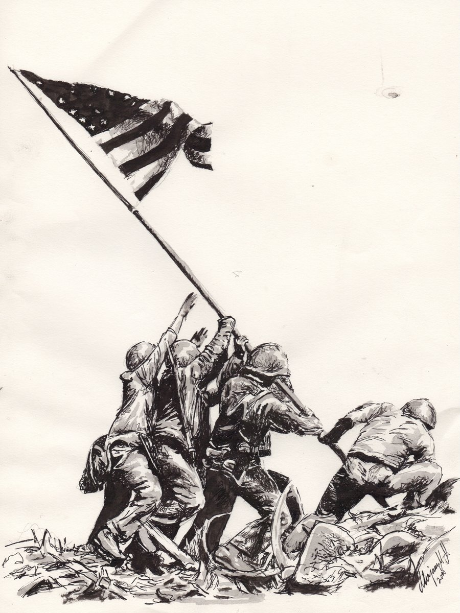 Raising The Flag On Iwo Jima Wallpapers 36 Wallpapers