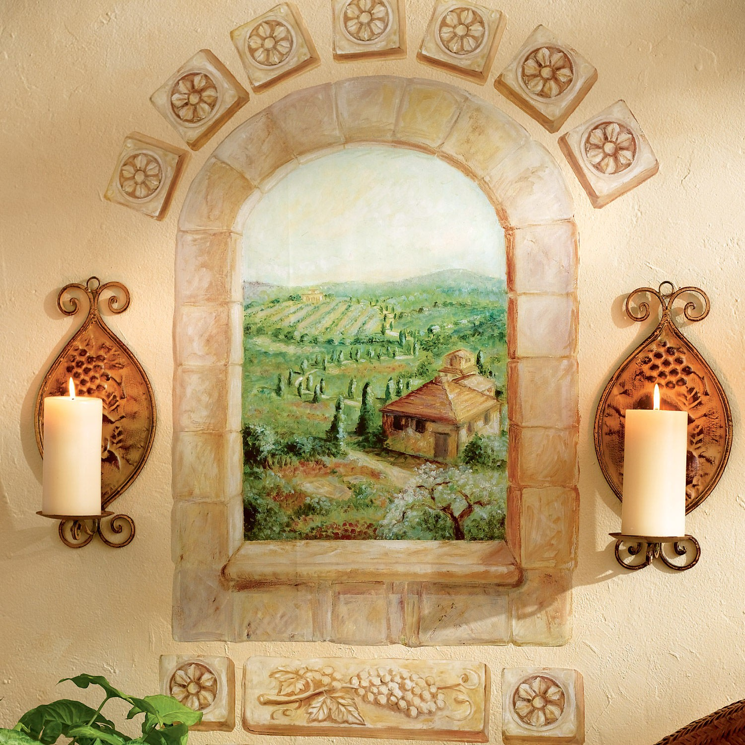 Wallpaper Murals For Bathrooms Download Tuscany Wallpaper Murals Gallery 1500x1500