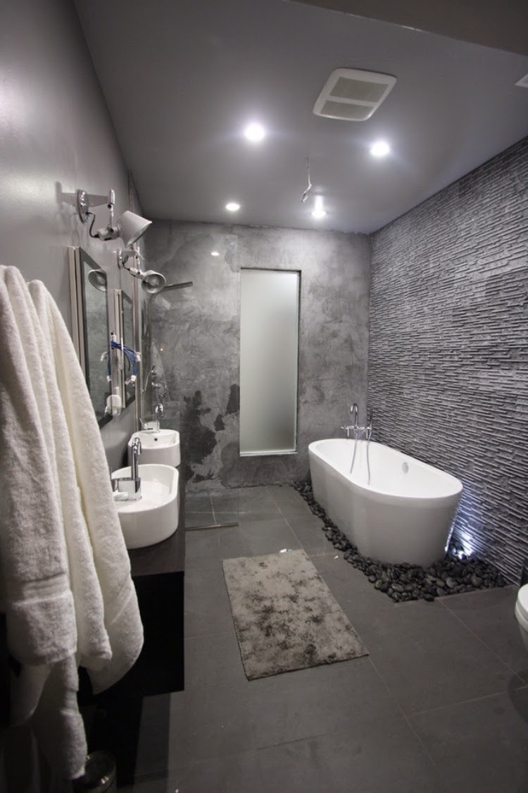 Bathroom Tile Ideas 2020 Grey Novocom Top