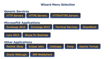 avanu webmux wizard menu