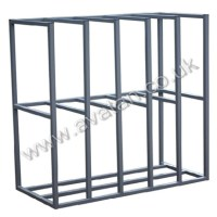Steel Sheet Rack Vertical for Sheet Steel or Board Storage ...