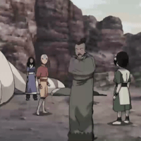 Today Toph will instruct Aang to keep his wood rock firm at least for few minutes