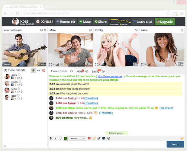 Top 10 Live Chat Software - live video chat room