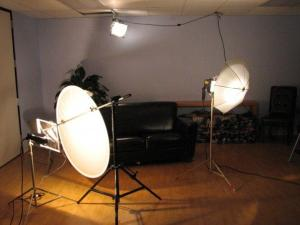 lighting for interview