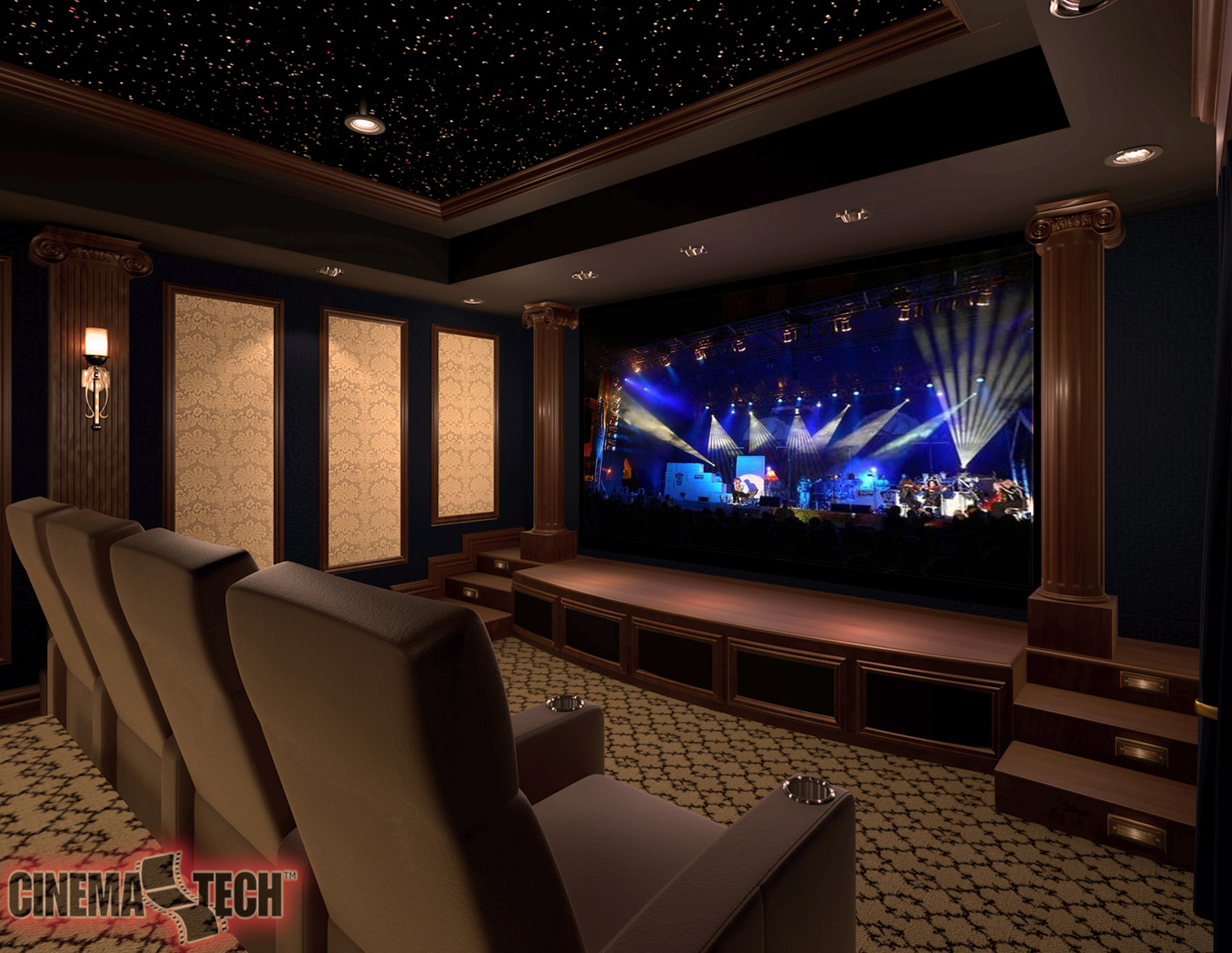 Home Entertainment Setup San Diego Custom Home Theatre Design And Installation