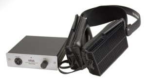 STAX SR-202 HEADPHONE & SRM-252II AMP COMBO