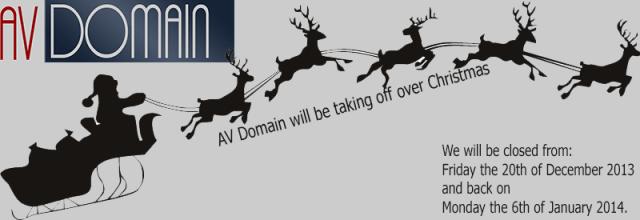 AV Domain Christmas 2013