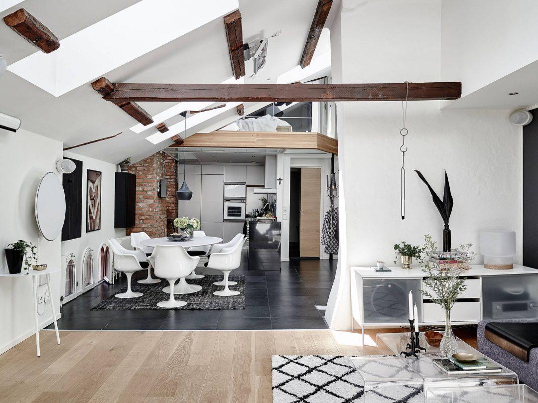 Idée Déco Appartement Avec Mezzanine | Amenagement Lit Mezzanine ...