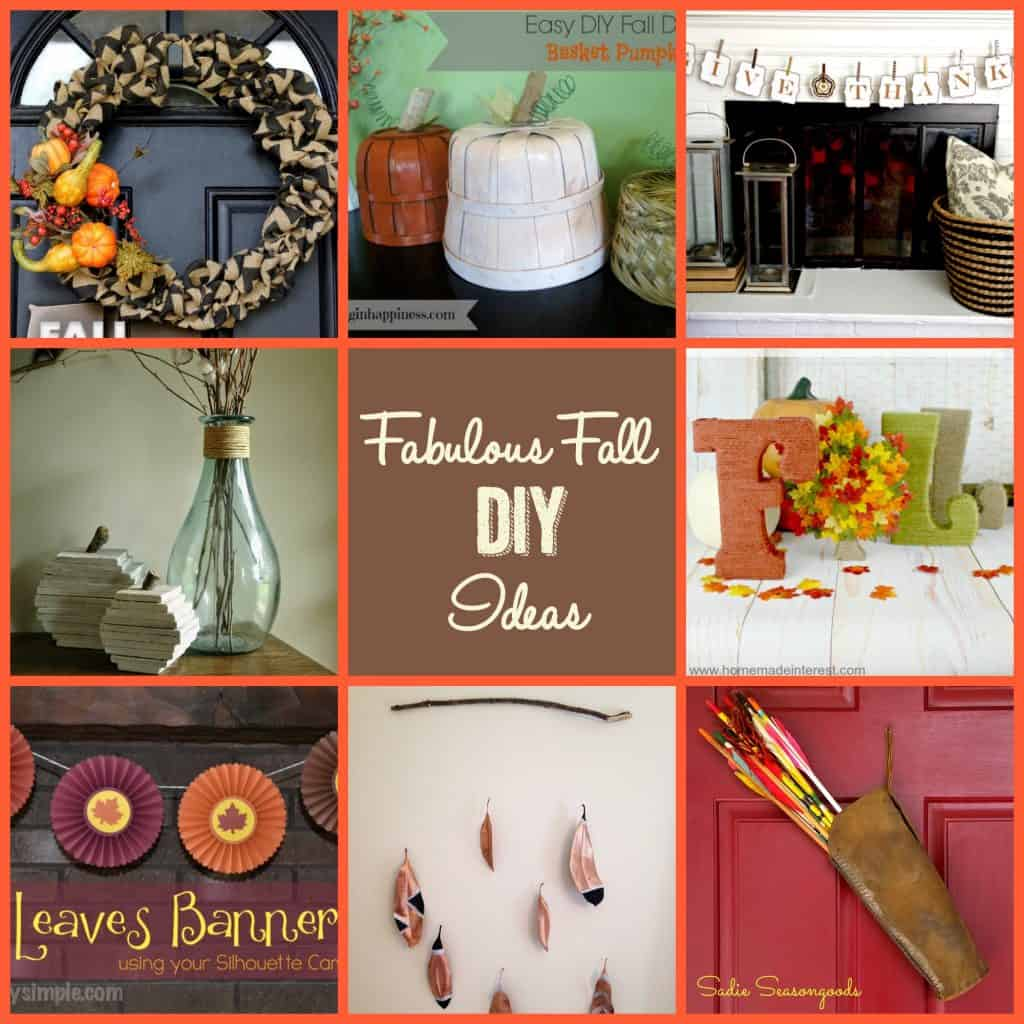 Fall Decor To Make Fabulous Fall Diy Decorating Ideas Average But Inspired