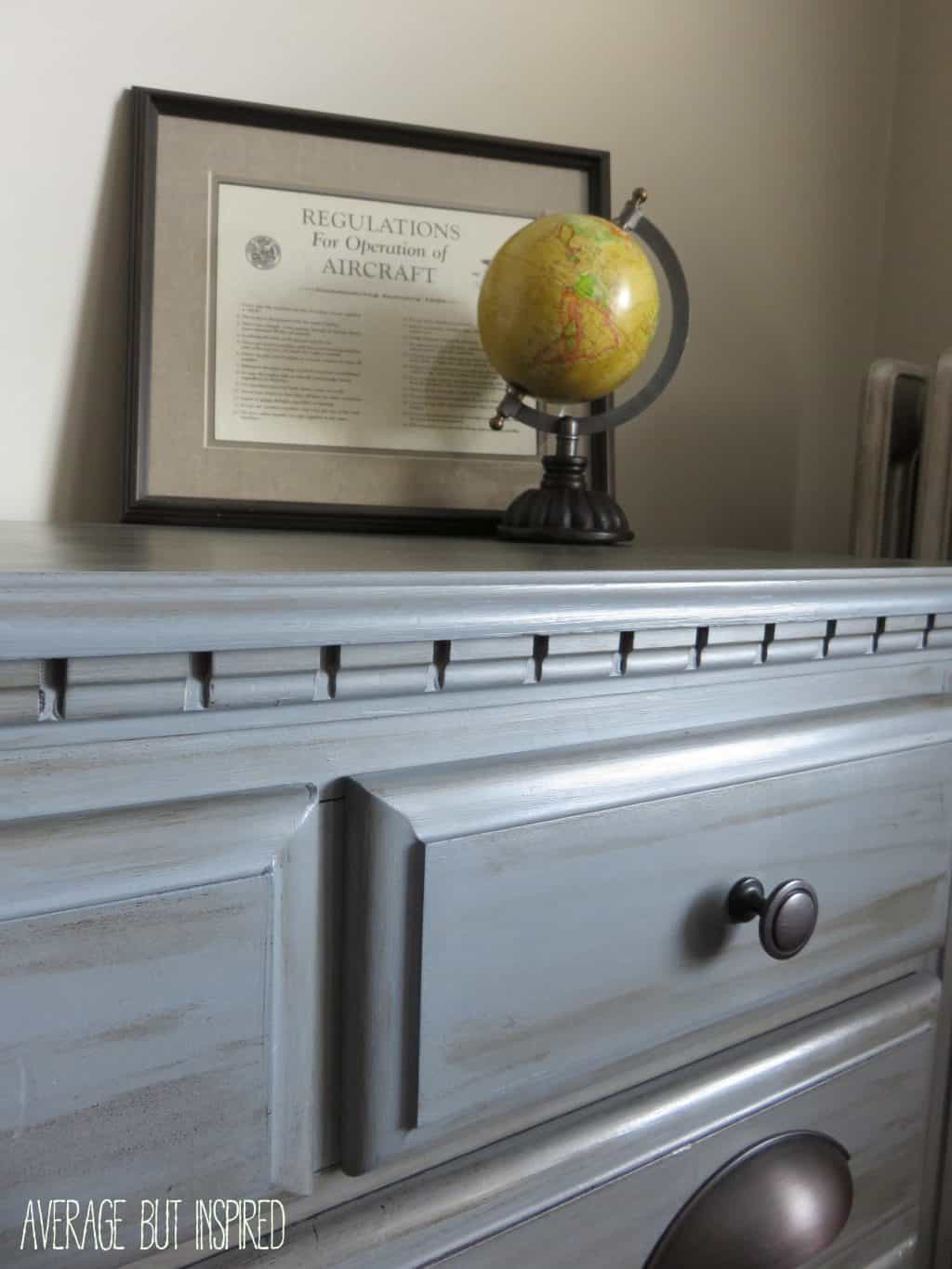 Americana Decor Chalky Finish Dresser Makeover With Americana Decor Chalky Finish Paint