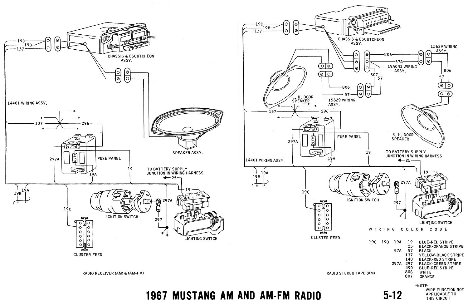 1967 ford mustang wiring diagram manual