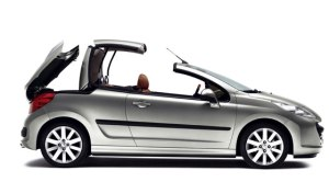 Peugeot 207 CC Retractable Hard Top